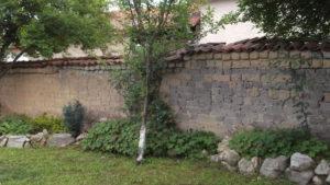 Mud brick walls in Bulgaria