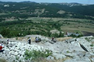 Perperikon excavations